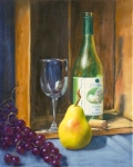 Beautiful White Wine 20x16
