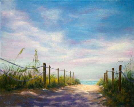 Path to the Beach 24x30