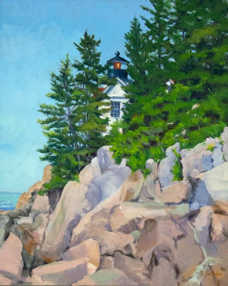Bass Harbor Head Lighthouse 20x16